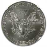 2011 (S) Silver Eagle - MS-70 NGC - Golden Gate/Early Releases